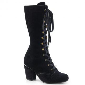 Demonia Vivika Victorian Gothic Stiefel